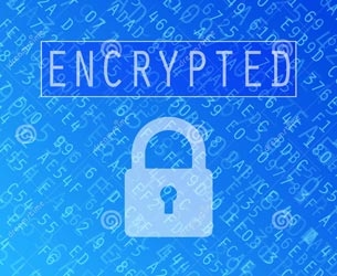 encrypted and safe online activity