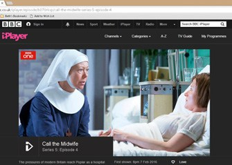 BBC iPlayer Call the Midwife