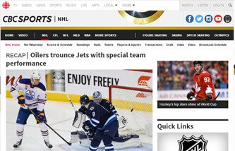 NHL on CBC online