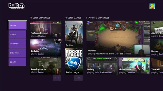 Twitch social media platform for game lovers