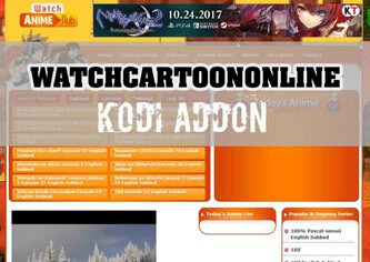 Watch Cartoons Online Kodi add-on