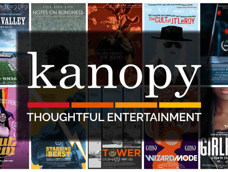 Kanopy streaming website