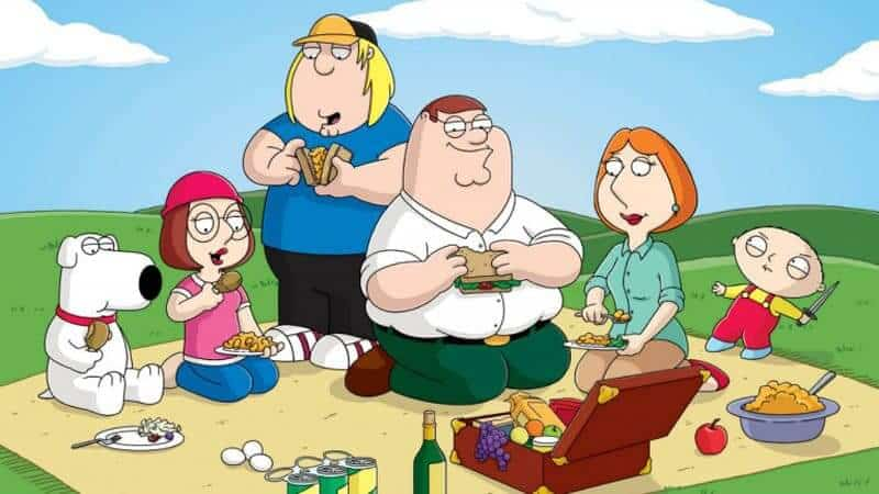 Family Guy in HULU