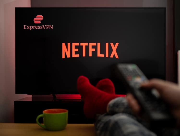Netflix and Express VPN